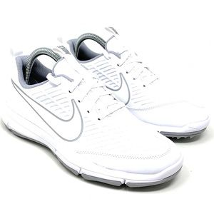Nike Golf Explorer 2 Light Shoes White Grey Sz 7.5
